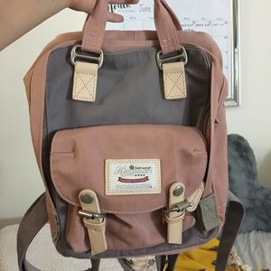 Cute mini backpack! Spacious and practical